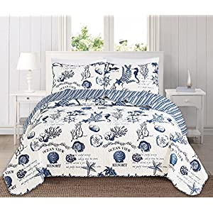61lH6VA2VqL._SS300_ Beach Quilts & Nautical Quilts & Coastal Quilts