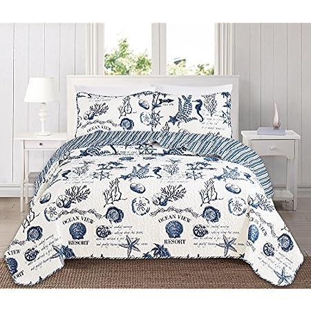 61lH6VA2VqL._SS450_ Seashell Bedding and Comforter Sets