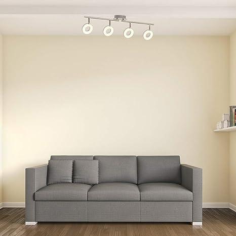 Lámpara de techo LED moderna incl. 4x4,5W bombillas I