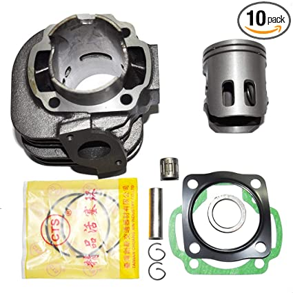 Amazon.com: Cylinder Kit Piston Rings Gasket set 50mm For Yamaha Jog 90 90cc Scooter: Automotive