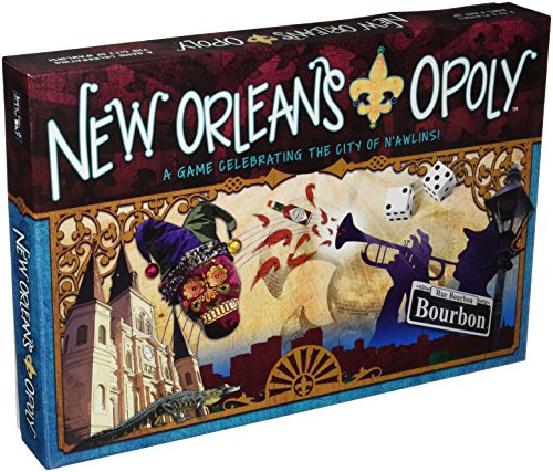 Late for the Sky New Orleans-opoly (Gras Puzzle Mardi)