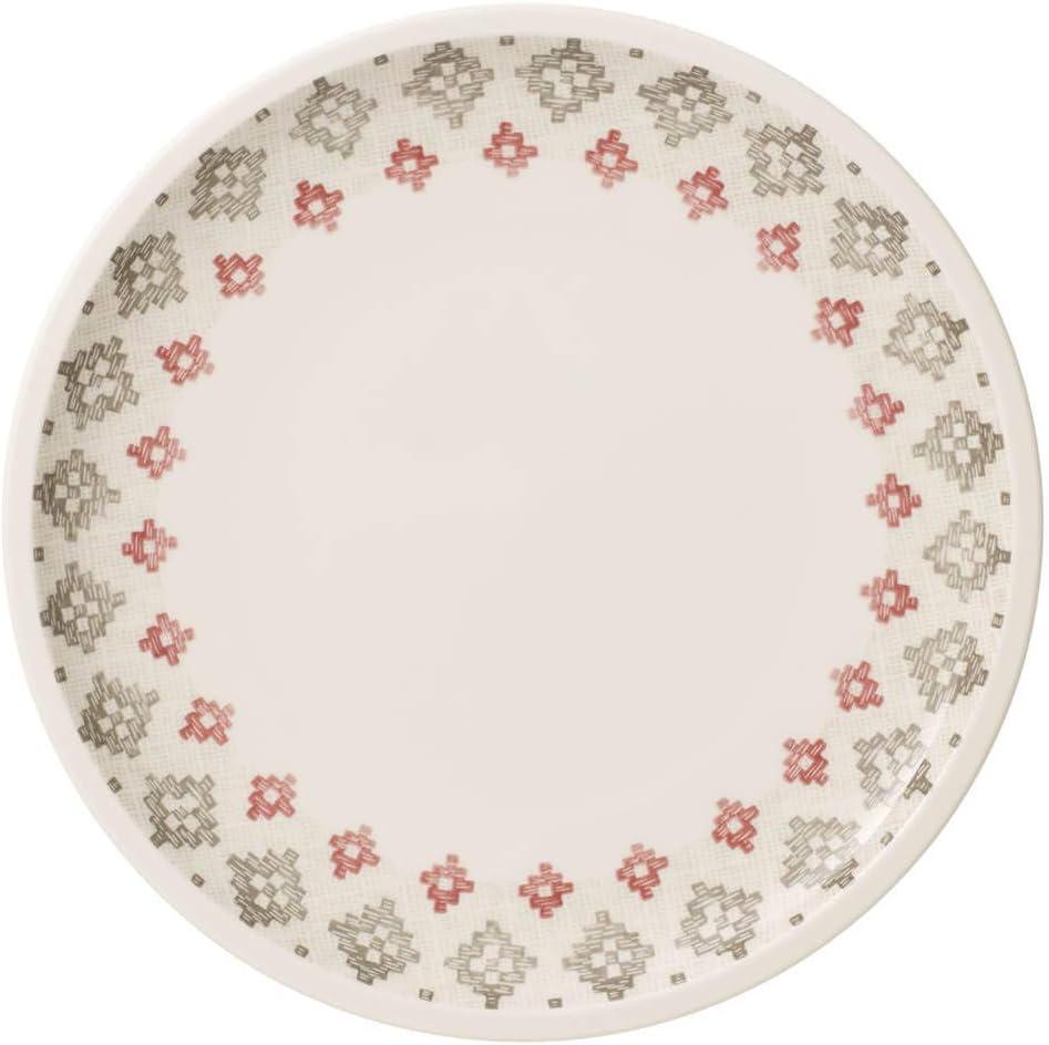 Porcelaine Premium Villeroy /& Boch Artesano Montagne Sous-assiette 32 cm Blanc//Gris