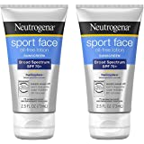 Neutrogena Ultimate uCLEJ Sport Face Oil-Free Lotion Sunscreen, 2.5 Fl. Oz., SPF 70 Lotion (2 Pack)