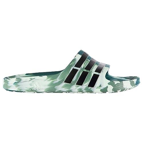 Adidas Duramo Slide On Pool Herren Pool Schuhe Camo Print