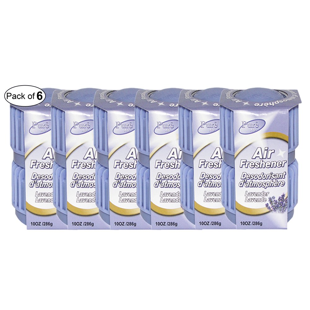 Pure Air Twin Pack Air Freshener- Lavender (286g) (Pack of 6)