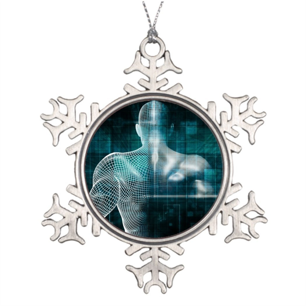 Sedlockyvq Tree Branch Decoration Healthcare System Network As A Digital Technology Snowflake Christmas Decorations