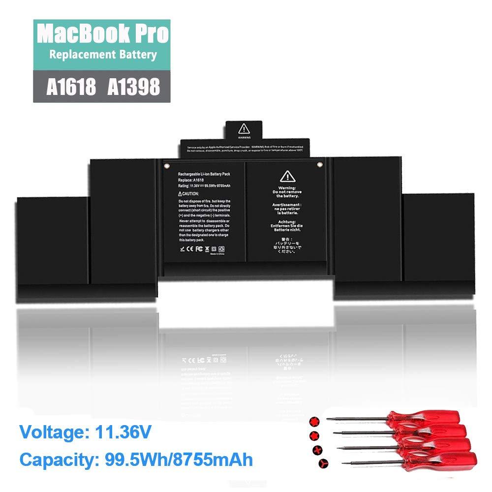 Bateria A1618 Macbook Pro 15 A1398 Retina 2015 Version P/n 0