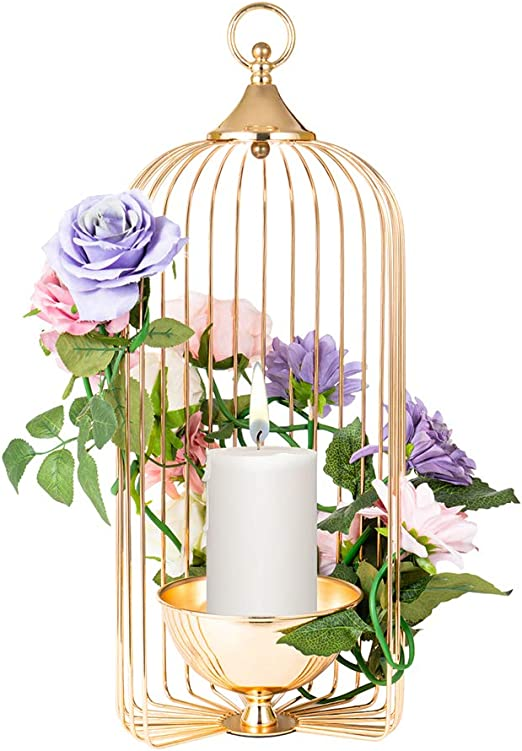 Bird Cage Candle Holder Home Kitchen Decor Decorations New Candle Holder