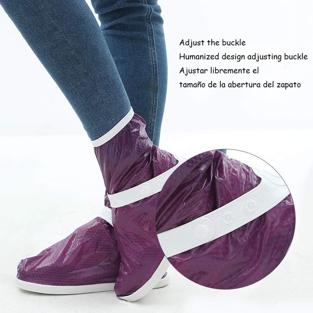 Amazon.com: MLL Waterproof Rain Boot Shoe Cover Reusable ...