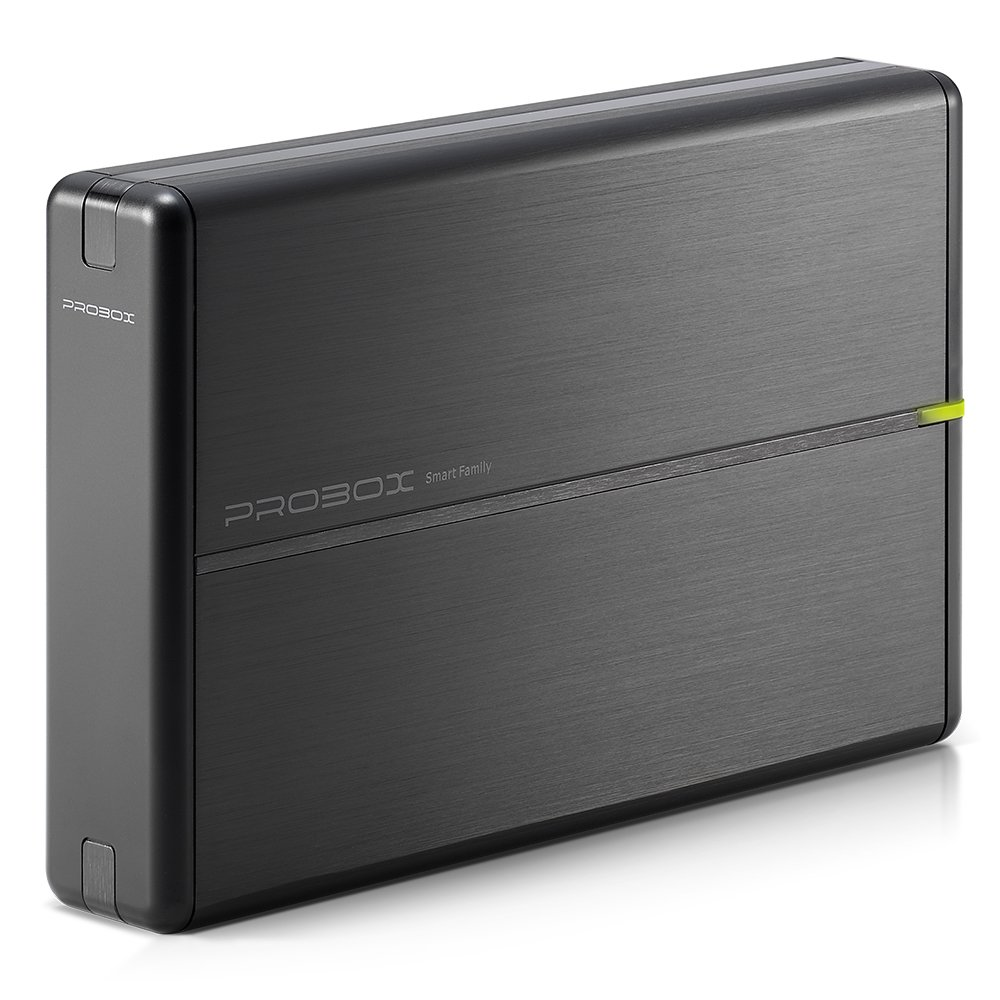 Mediasonic USB 3.0 3.5' SATA Hard Drive Enclosure with Aluminum Body Support SATA 3 6.0Gbps Hdd Speed and UASP (HDL-SU3)