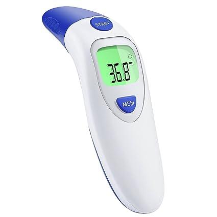 Termómetro de oído Termómetro Termómetro frontal infrarrojo, profesional de 4 en 1 Médico Termómetro Digital