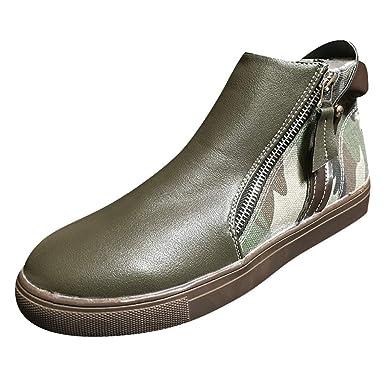 c9ef4da1ddd03 Amazon.com: Mozziee Boots for Women, Mixed Color Shoes Boots Zipper ...