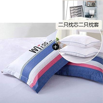 ACZZ Almohada de almohada triangular para dos personas Almohada de ...
