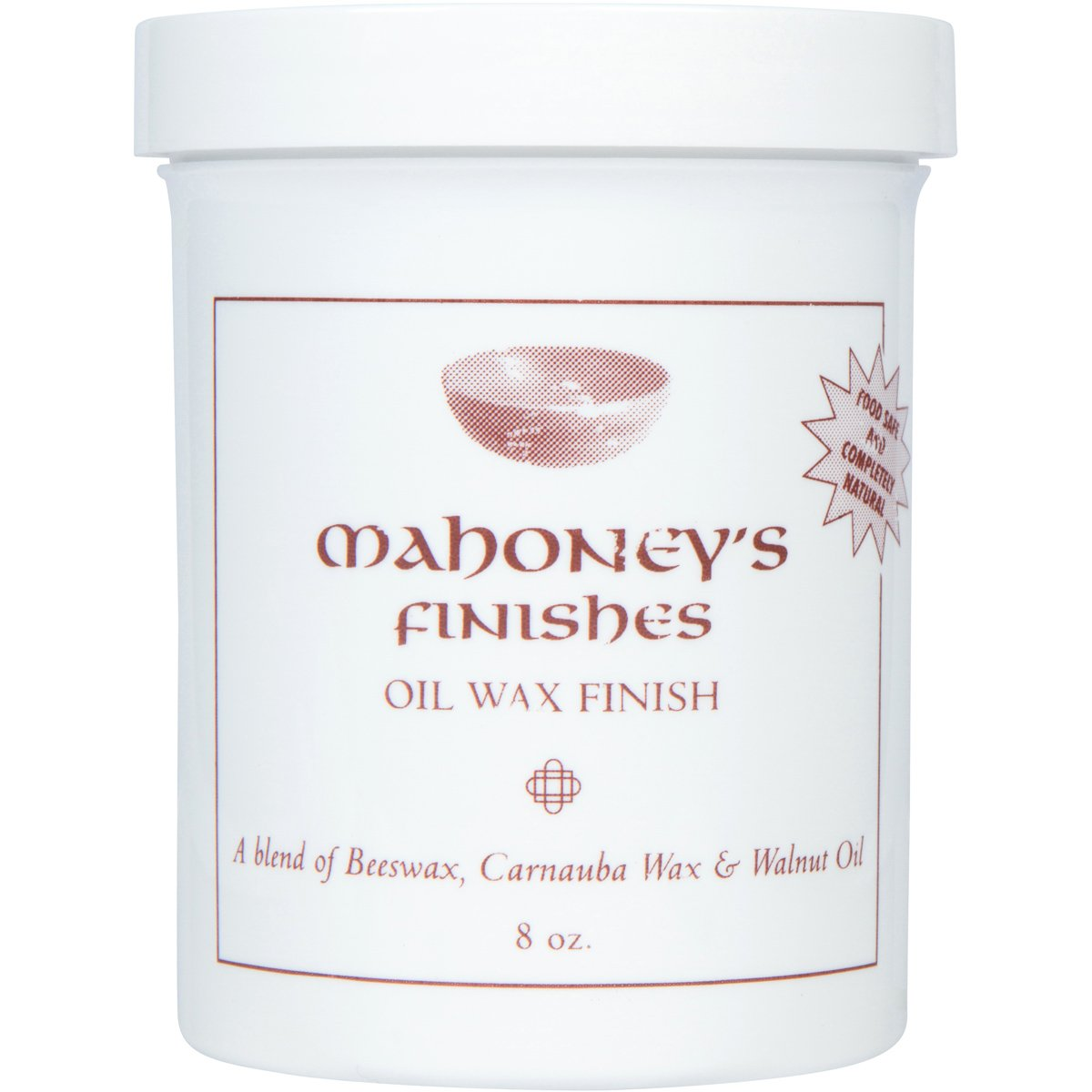 Mahoney's Finishes Walnut Oil and Wax Combo: Food Safe Wood Finish For Salad Bowls, Cutting Boards, Furniture a Fast Drying Utility Oil Wood Protectant by Bowl Maker (Image #3)
