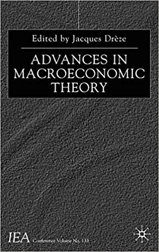 Advances in Macroeconomic Theory: Volume I of the Proceedings of the Iea Congress Held in Buenos Aires, Argentina (International Economic Association)