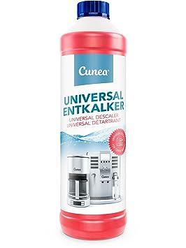 Cunea I Descalcificador liquido I Para máquinas de café esprreso (750ml): Amazon.es: Hogar
