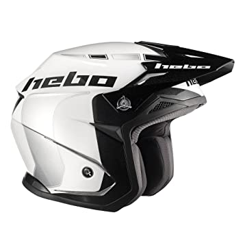 HEBO Trial Zone 5 Like Casco, Blanco, Talla S