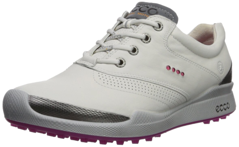 ECCO Women's Biom Hybrid Golf Shoe B071KB1ZQF 36 M EU (5-5.5 US)|White/Candy
