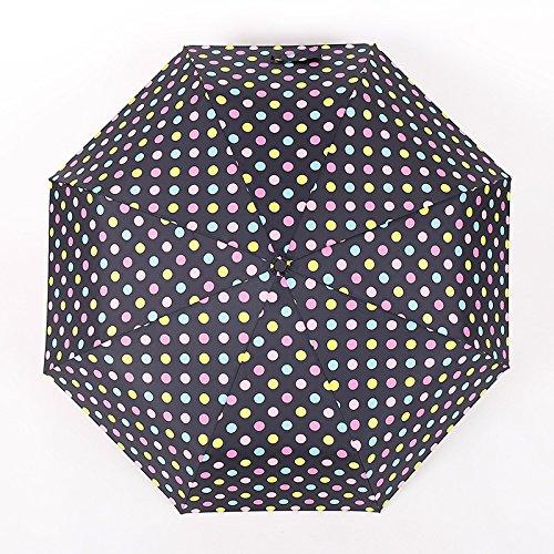 Vivona Automatic Windproof Folding Umbrella Men Women 8 Ribs Umbrellas Travel Lightweight Rain Gear - (Color: 4) by Vivona (Image #7)