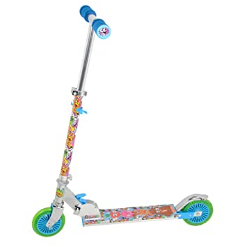 Amazon.com: Moshi Monsters – Patinete plegable con luz hasta ...
