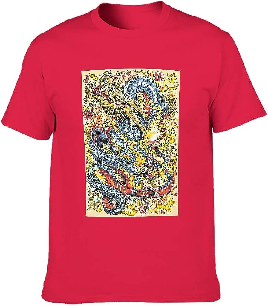 BTJC88 - Camiseta de algodón con efecto calavera, efecto espejo, para hombre, de miedo, Sweethearts