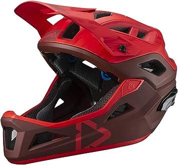 Leatt Mountainbike Helm Unisex Erwachsene Rubinrot Größe S 1019303620 Auto