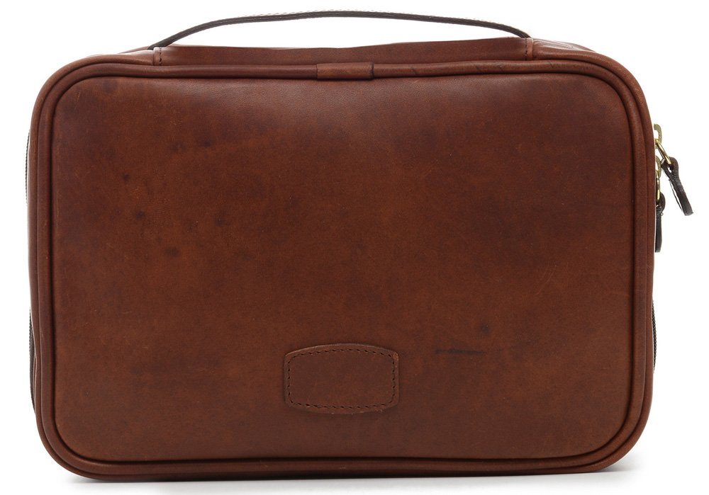 Korchmar La Romana Hanging Toiletry Case Espresso by Korchmar