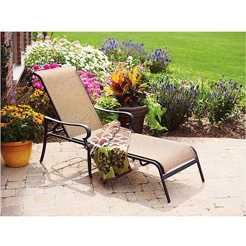 amazoncom better homes and gardens paxton place outdoor chaise lounge patio lawn garden. beautiful ideas. Home Design Ideas