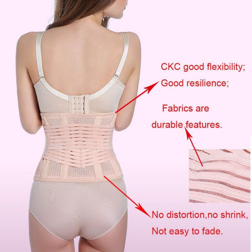 Ghoody Women Solid Color Thin Section Postpartum Abdomen Belt Belt Adjustable Thin Waist Body Shaping Girdle