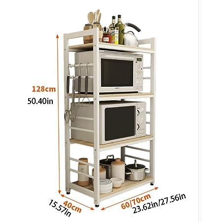 Cocina de 4 nivelesRack Utility Horno de microondas Soporte ...