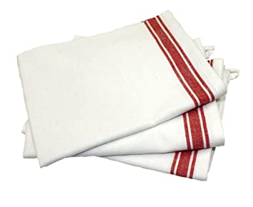 Aunt Marthau0027s 18 Inch By 28 Inch Package Of 3 Vintage Dish Towels,