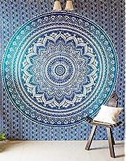 RAJRANG BRINGING RAJASTHAN TO YOU Grande Hippie Arazzo Hippy Mandala Boemia Arazzo Indiana Dorm Decor Tapestry Wall Hanging Ethnic Decorativo Urbano Tapestry Multi Color