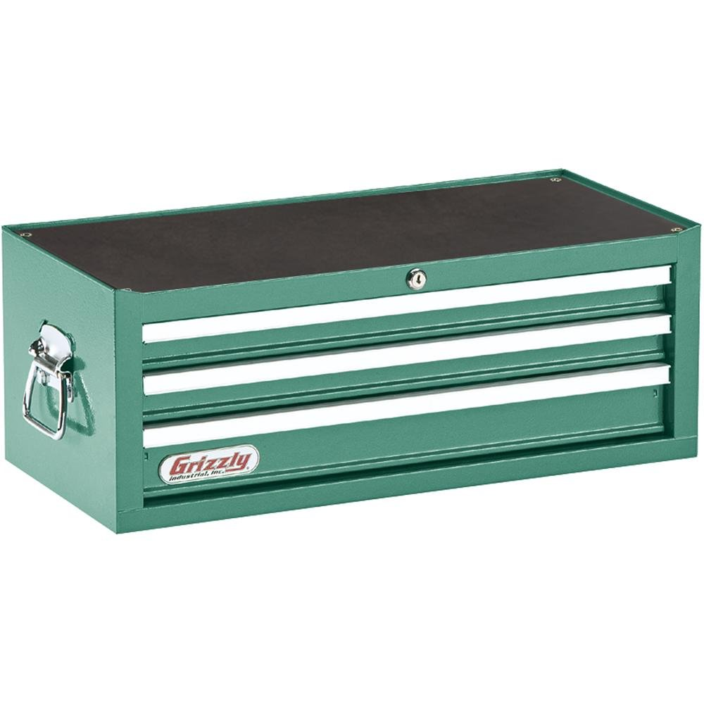 Grizzly H0837 3 Drawer Middle Chest with Ball Bearing Slides ...