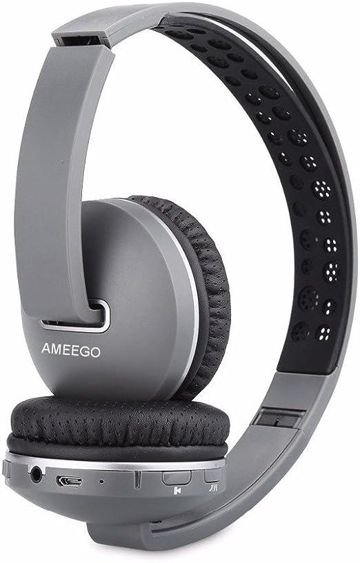 Ameego Bluetooth Over Ear Stereo Foldable Headphones Elektronik