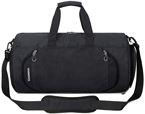 f0c8796d3 Gym Sports Small Duffel Bag for Men and Women with Shoes Compartment -  Mouteenoo (Small