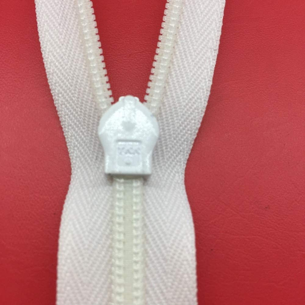 Chiusure cerniera zip invisibile bianca YKK 20 cm 080