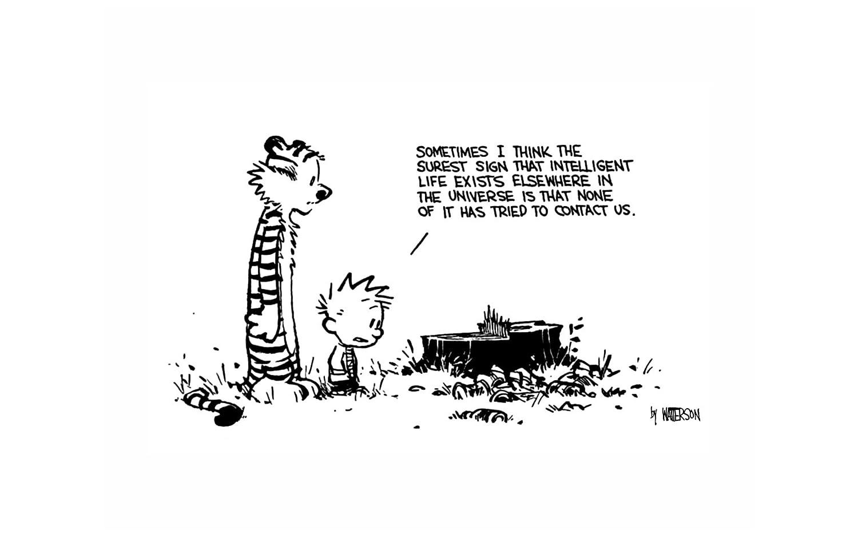 Posterhouzz Comics Calvin Hobbes Hobbes Calvin Hd Wallpaper