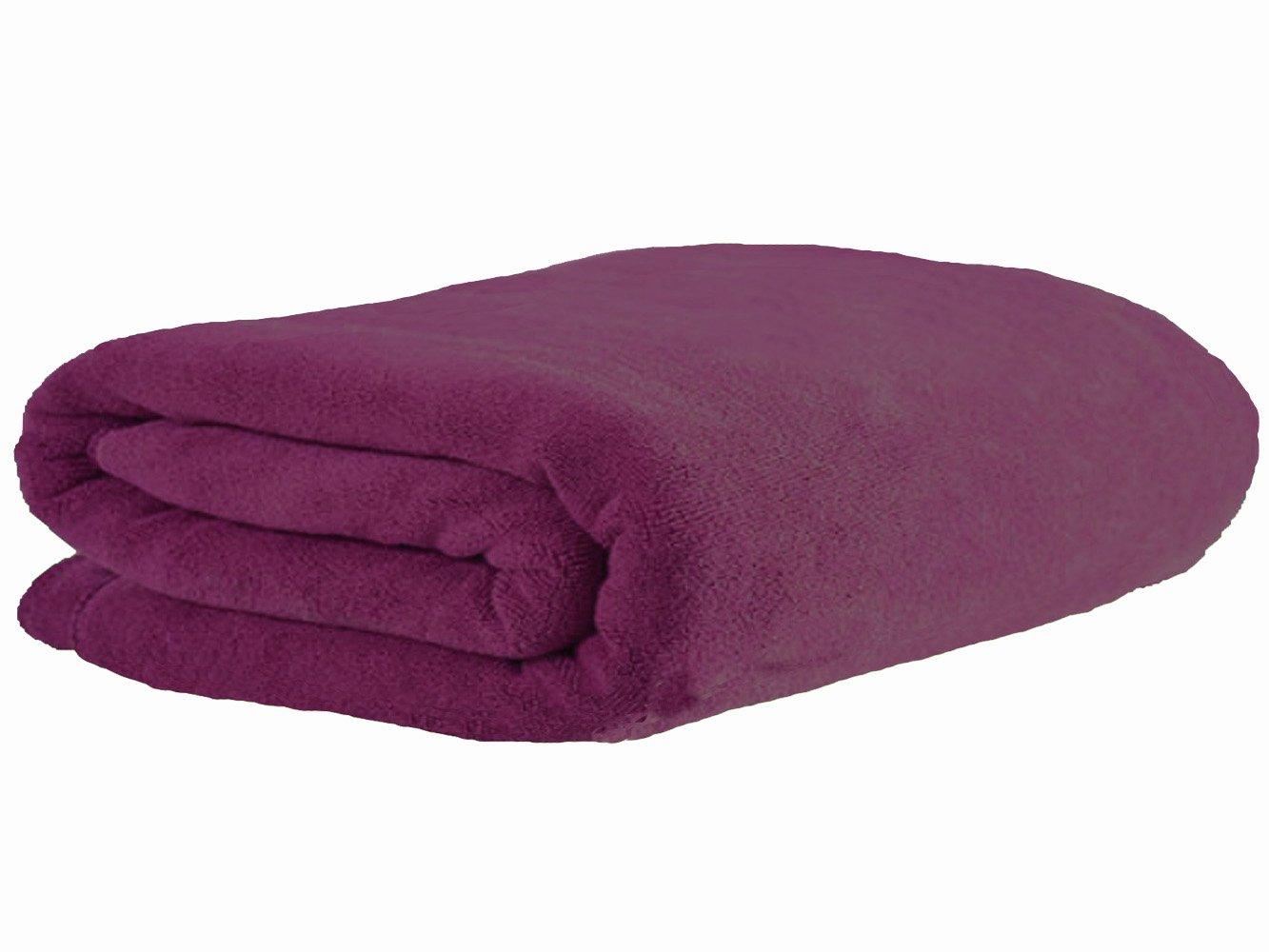 Simplife Microfiber Luxury Bath Sheet Extra Large Bath Towel Fast Drying Beach Towel (36 Inch X 72 Inch, Purple) COMIN18JU061723