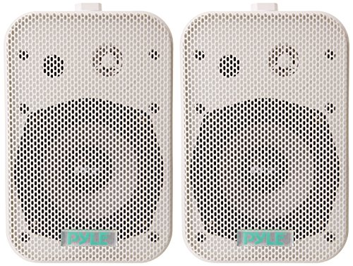 "Pyle 5.25"" 400W Indoor/Outdoor Speakers (Pair) White PDWR40W"