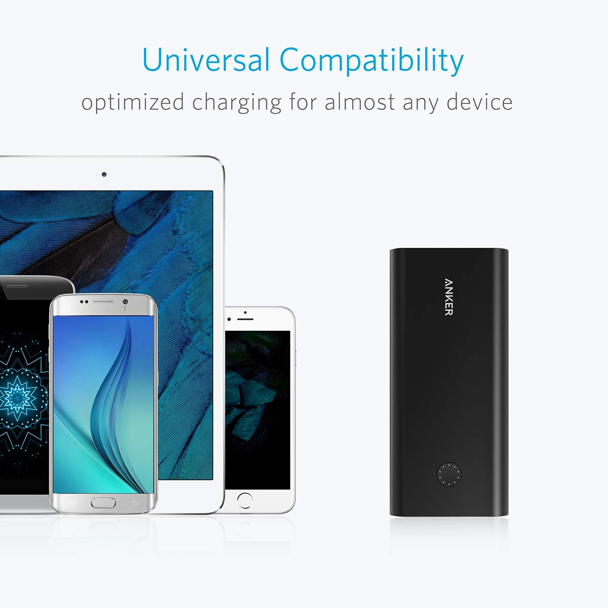 Anker PowerCore+ 26800, Premium Portable Charger, High Capacity 26800mAh External Battery with Qualcomm Quick Charge 3.0 (in- and Output), Includes PowerPort+ 1 Wall Charger by Anker (Image #8)