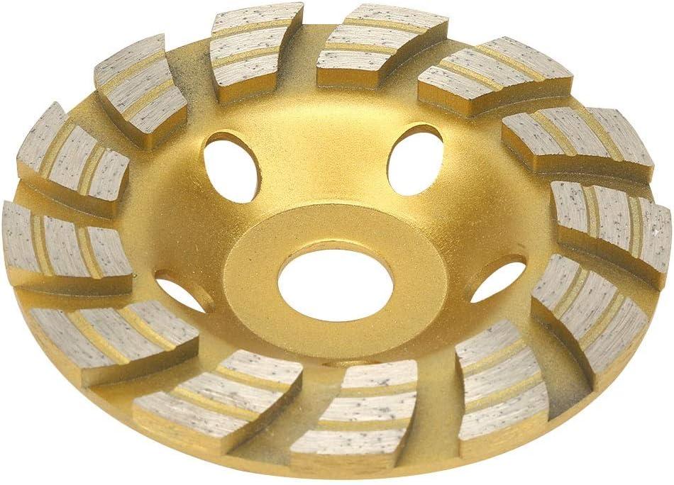 Diamond Cutting Disc Fast Cutting for Concrete Marble Granite 12522.2mm Samfox Diamond Grinding Wheel