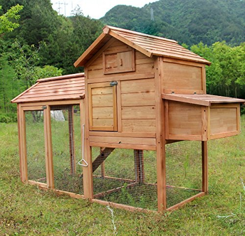 MCombo 0311L Deluxe Large Chicken Poultry Coop Hen House ...