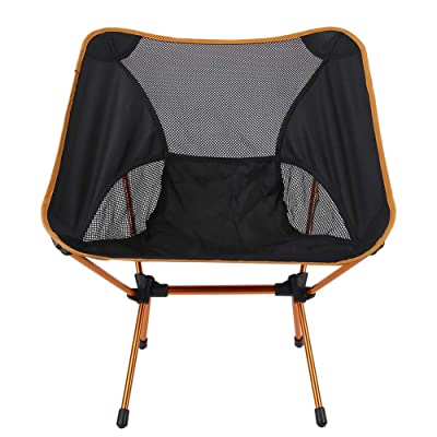 TOPINCN Relaxing Chair, Oxford Cloth Space Chair Comfortable Relaxing Chair for Home Outdoor Office Picnic Orange: Kitchen & Dining