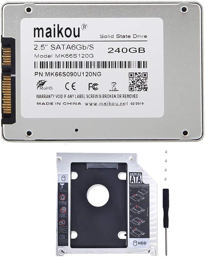 non-brand Baoblaze MAIKOU - Disco Duro de SGB3 de 240GB SSD 2.5 ...