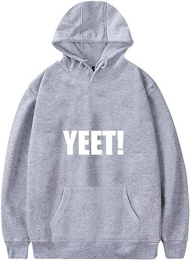 YEET - Sudadera con capucha para hombre, algodón, con varias ...