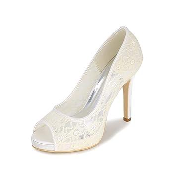 Zapatos Stiletto Qingchunhuangtang Qingchunhuangtang Fishtail Zapatos  Fishtail Stiletto Stiletto Lace Qingchunhuangtang Lace Fishtail pwPq5T 2ed796e43087