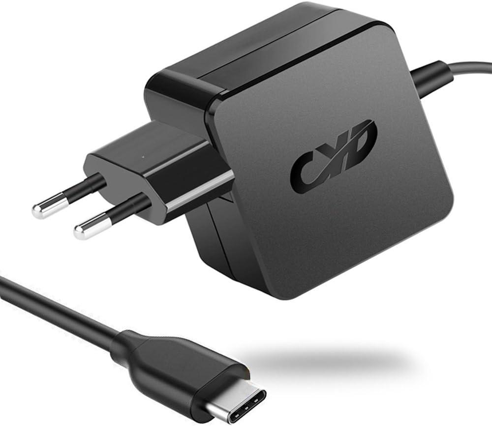 CYD 65W USB TYPE-C PD Cargador Ordenador Portatil para Asus c302ca Xiaomi Air 12 13 Lenovo Yoga 920 charger thinkpad l380 l480 yoga Notebook Cargador Alimentacion