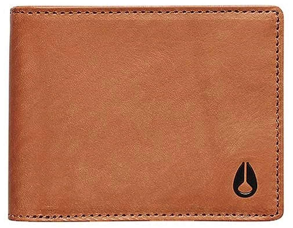 Saddle Nixon Cape Leather Bi-fold Wallet