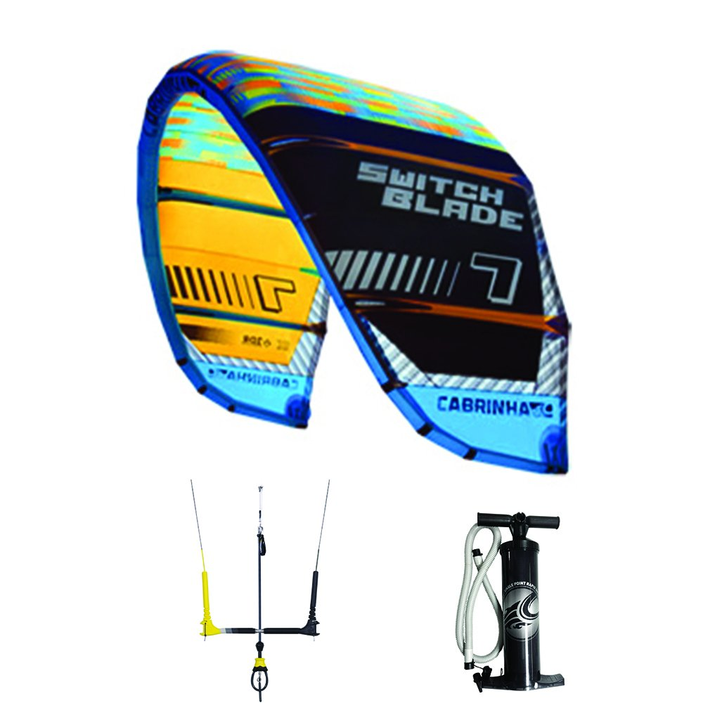 Amazon.com: Cabrinha 2016 Switchblade Kite and Free Bar Package (10 meter):  Sports & Outdoors