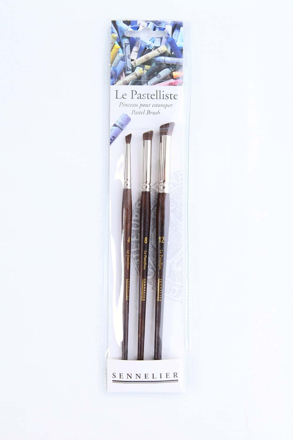 Sennelier Le Pastelliste Pastel Brush Set 3Pc